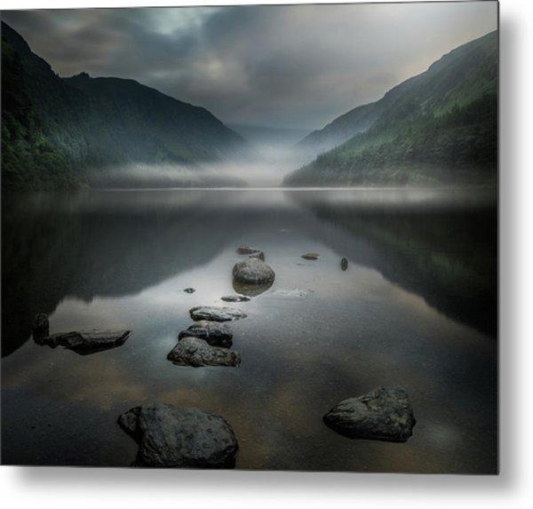 Silent Valley Metal Print by David Ahern