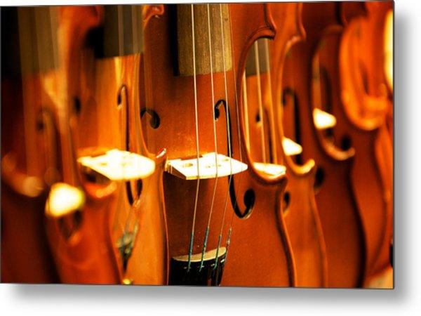 Silent Violins Metal Print by Maurizio Incurvati