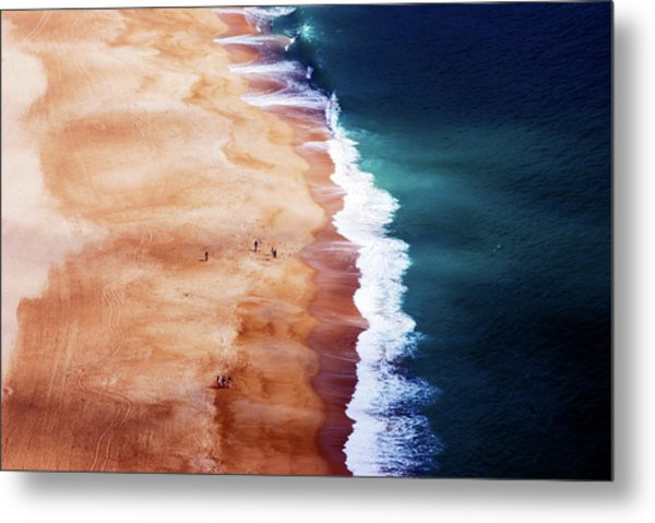 Silver Coast Metal Print by Cbomersphotography