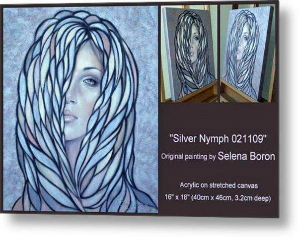 Silver Nymph 021109 Comp Metal Print