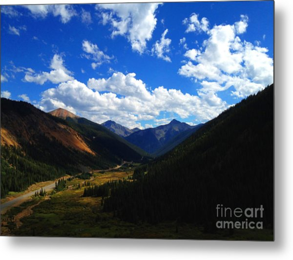 Metal Print featuring the photograph Silverton by Kate Avery