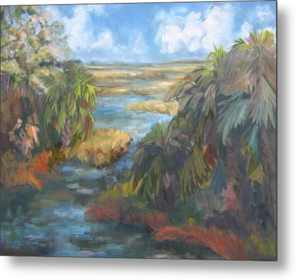 Simmons Bayou Metal Print by Susan Richardson