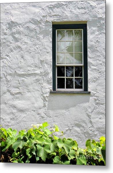 Simple Window Metal Print