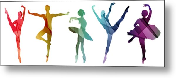 Simply Dancing 3 Metal Print