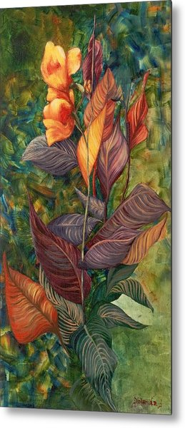 Simply Flowers Metal Print