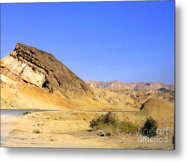 Sinai Desert  Metal Print
