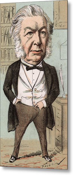 Sir John Elphinstone  Statesman Metal Print by Mary Evans Picture Library