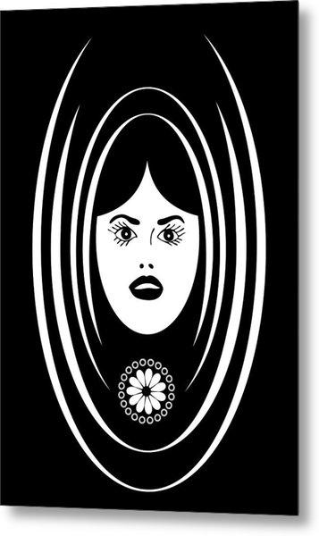 Siren Metal Print by Frank Tschakert