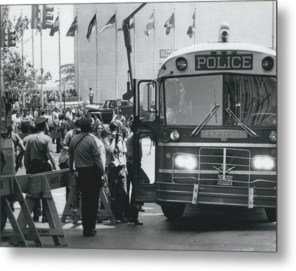 Sit - In For Survival Metal Print by Retro Images Archive