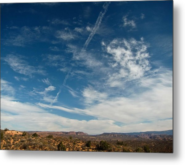 Skies The Limit Metal Print