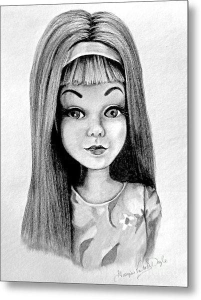 Skipper Barbie Metal Print