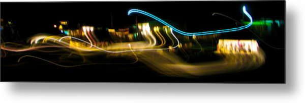 Skirling Lights Metal Print by Brian Gibson