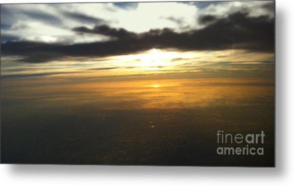 Sky Above Metal Print by Raymond Earley