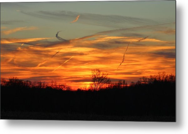 Sky At Sunset Metal Print