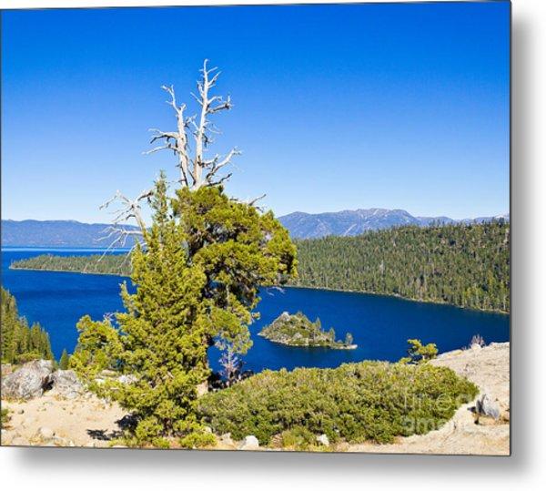 Sky Blue Water - Emerald Bay - Lake Tahoe Metal Print