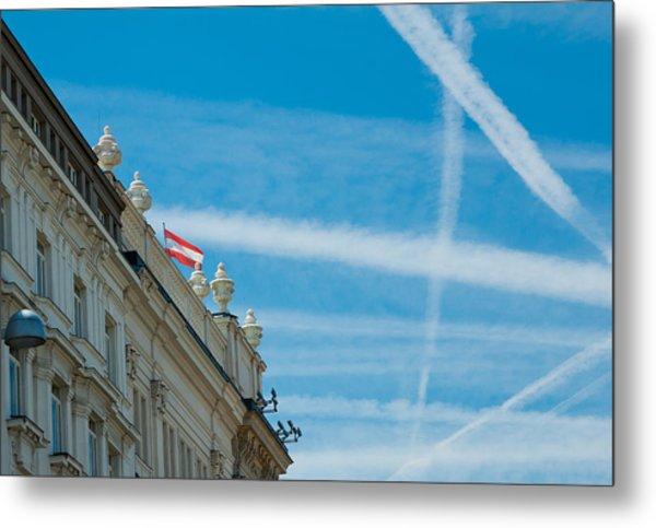 Sky Crossroads Metal Print by Viacheslav Savitskiy