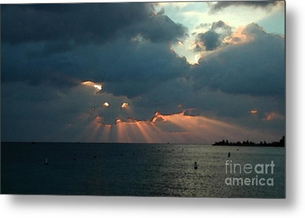 Sky Dragon - Florida Keys Metal Print