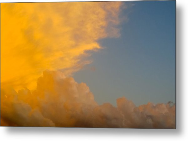 Sky Fire 002 Metal Print by Tony Grider