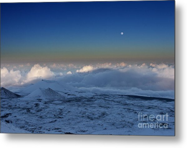 Sky Moon Metal Print by Karl Voss