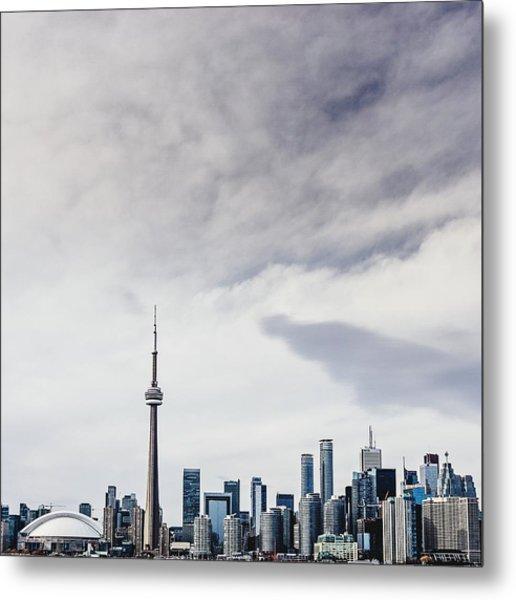 Sky Over City Metal Print by Sven Hartmann / Eyeem