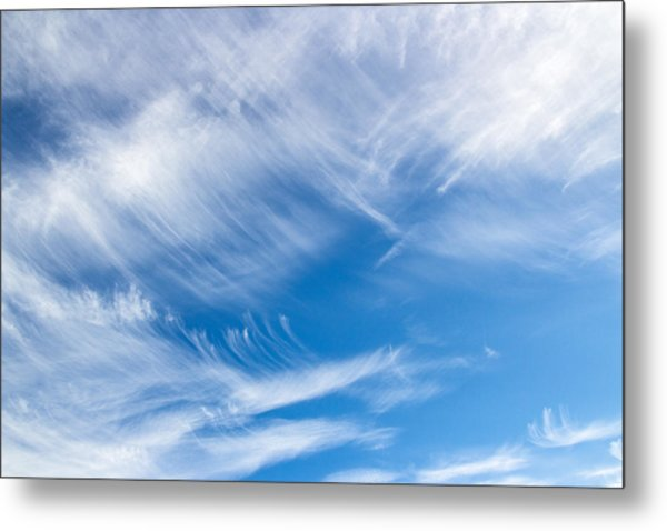 Sky Painting II Metal Print