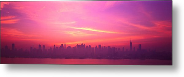 Skyline, Nyc, New York City, New York Metal Print