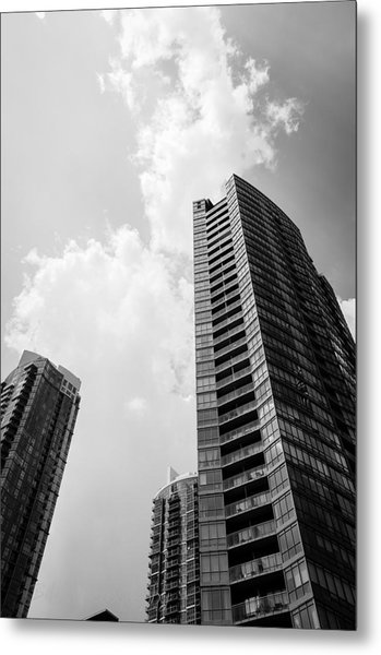 Skyscraper Metal Print by BandC  Photography