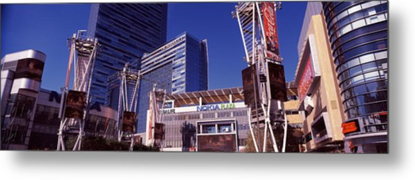Skyscrapers In A City, Nokia Plaza Metal Print