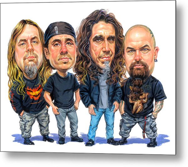 Slayer Metal Print by Art