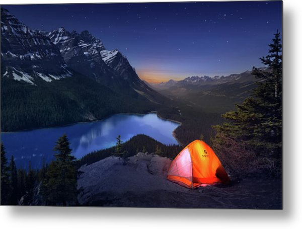 Sleeping With The Stars Metal Print