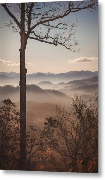 Slice Of The Smokies Metal Print