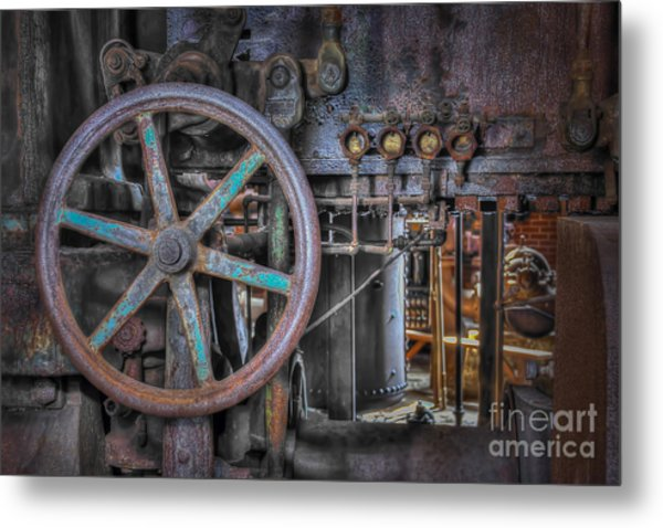 Sloss Blower Valve Metal Print