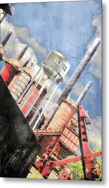 Sloss Furnace Metal Print