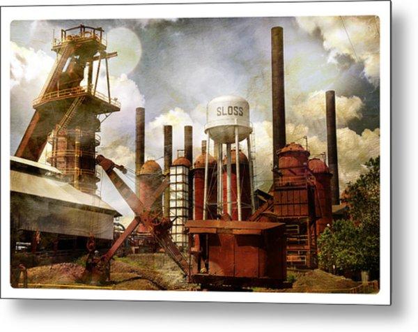Sloss Furnace II Metal Print