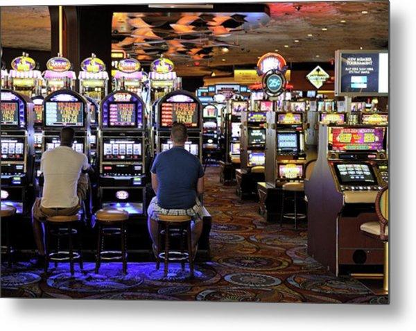 Slot Machines Metal Print by Bildagentur-online/mcphoto-schulz