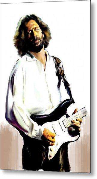 Slow Hand  Eric Clapton Metal Print