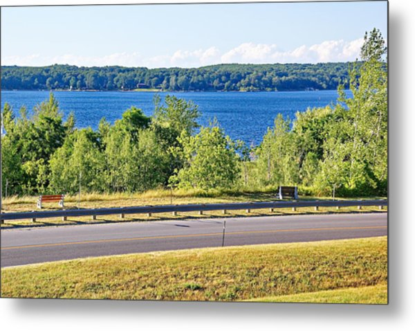 Small Town Georgian Bay Waterfront Views Metal Print