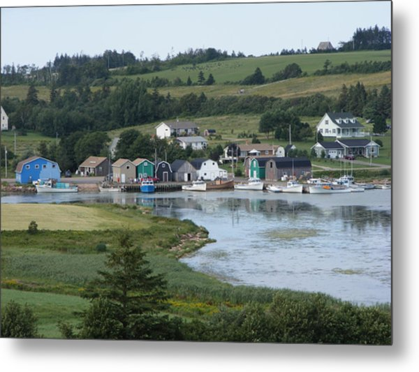 Small Town Pei Metal Print