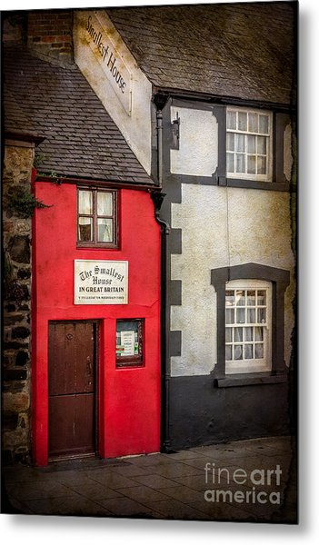 Metal Print featuring the photograph Smallest House by Adrian Evans