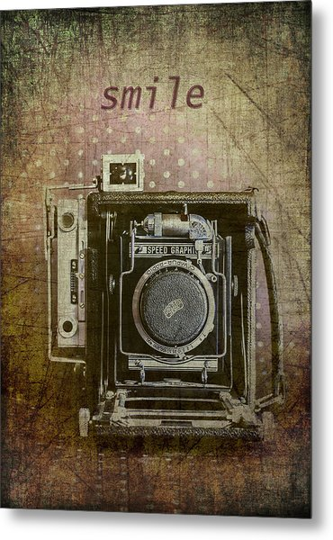 Smile For The Camera Metal Print