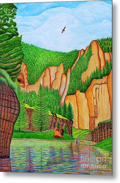 Smith River Montana Metal Print