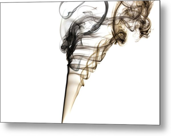 Smoke Trails Metal Print