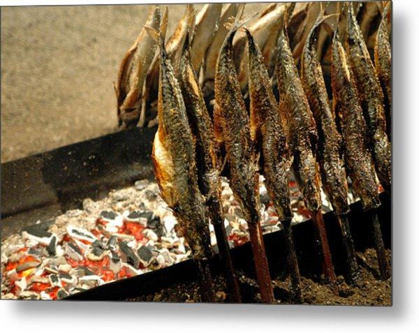 Smoked Mackerel Metal Print