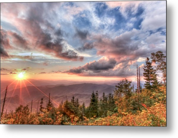 Smoky Mountain Lookout Metal Print