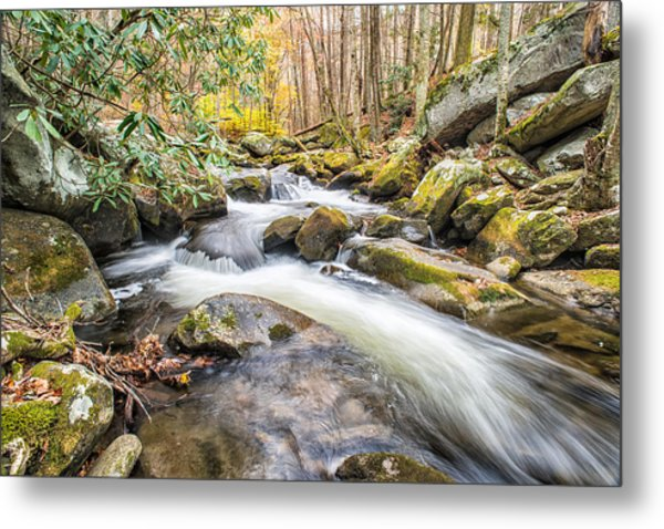 Smoky Mountain Stream 4 Metal Print