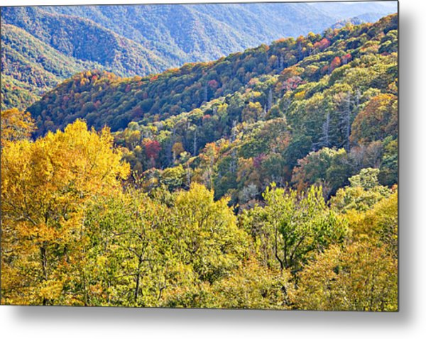 Smoky Mountain Valley Metal Print