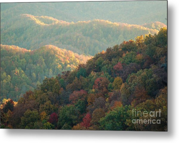 Smoky Mountain View Metal Print