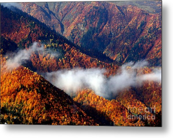 Smoky Mountains Metal Print by Arie Arik Chen