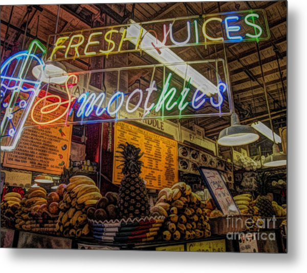 Smoothies Metal Print