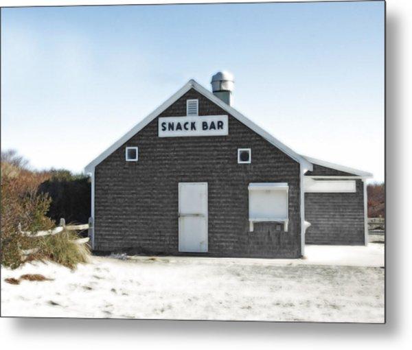 Snack Bar Off-season No. 2 Metal Print by Brooke T Ryan